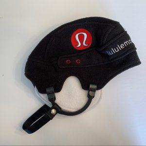 Lululemon Hockey Helmet Toque Hat Black Fleece